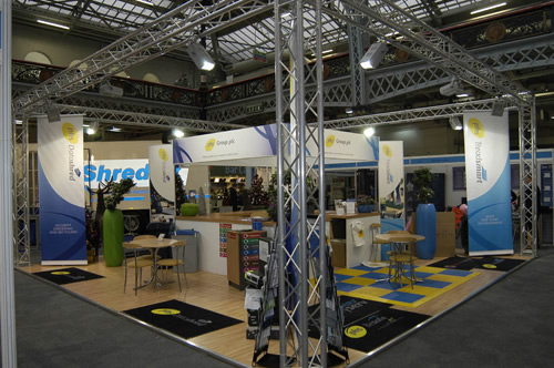 Outdoor Exhibition Stand Hire : Lighting gantry exhibition stands