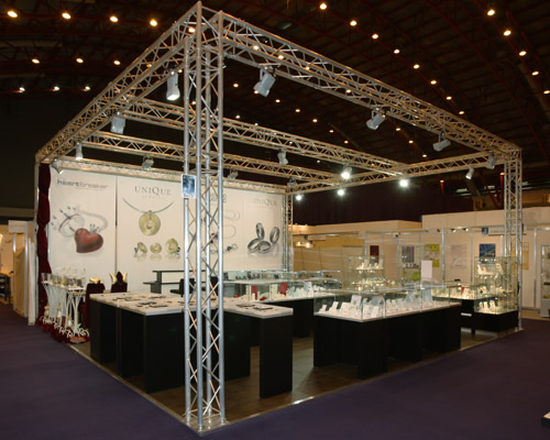 Exhibition Stand Lighting Uk : Exhibition stands gallery lighting gantry